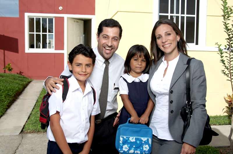 Familia dentro de los segmentos socioeconómicos en Chile