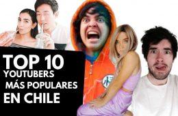 los Youtubers de Chile con más seguidores