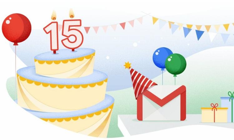 Texto predictivo, programación de envíos... GMail celebra su 15º cumpleaños con nuevas funcionalidades