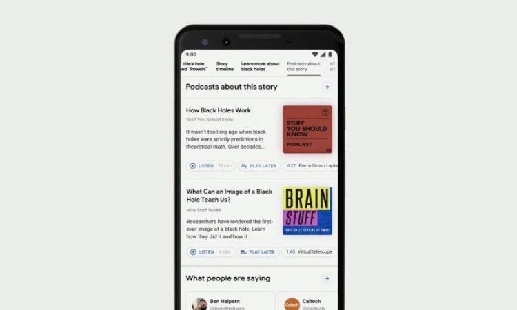 Google incluirá a los podcasts en sus resultados de búsqueda
