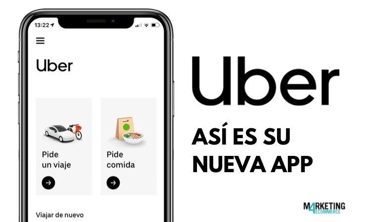 Así es la nueva app de Uber: más seguridad para los pasajeros y apuesta clara por Uber Eats