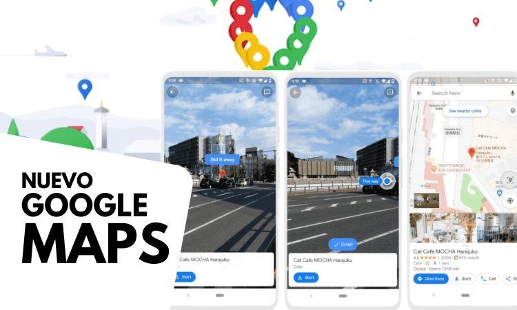 Así es el nuevo Google Maps: una de las herramientas estrella de Google se reinventa para celebrar su 15º aniversario