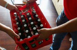 delivery de bebidas retornables