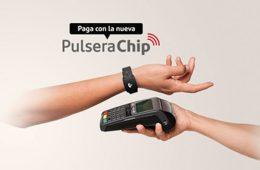 Pulsera Chip Santander