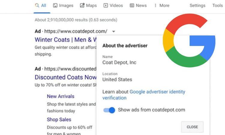 Google exigirá a todos los anunciantes que acrediten su identidad para poder seguir operando