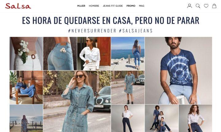Cómo Salsa Jeans aumentó un 17% su Conversion Rate durante el confinamiento gracias al UGC [Case Study]