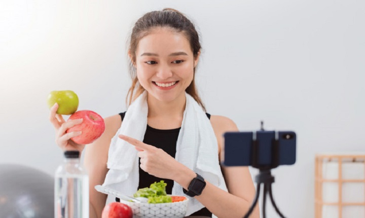 Instagramers de estilo de vida saludable