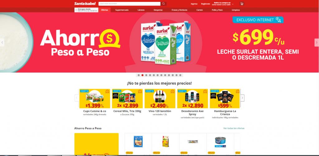 Supermercados Santa Isabel portada