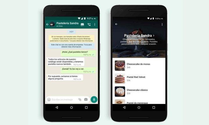 WhatsApp potencia la compra online dentro de los chats con un nuevo botón