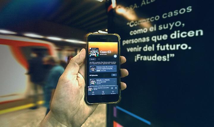 Nueva serie de Spotify en Chile