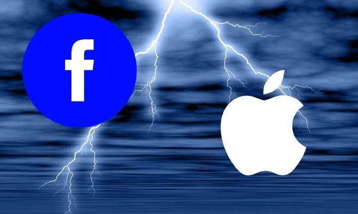 Facebook declara la guerra a Apple con una agresiva campaña en medios