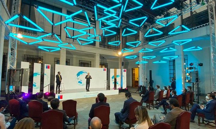 Acto de anuncio del proyecto Transforma Chile
