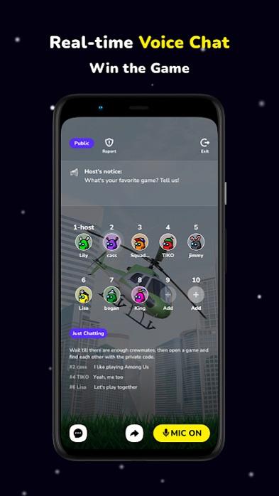 AmongChat. Apps de comunicación gratuitas.