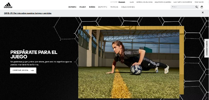 Adidas / eCommerce de deportes en Chile