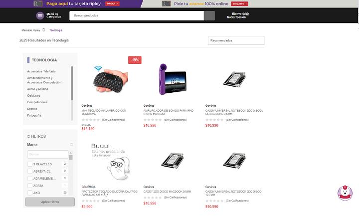 eCommerce de tecnología de Chile 6