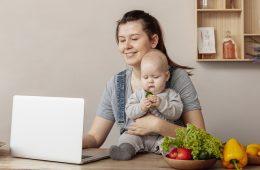 consumo online de las mamás
