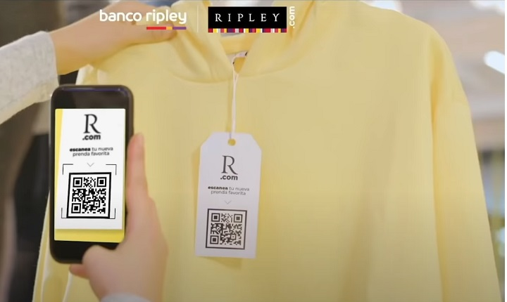 Llega Ripley Pago, una nueva solución para agilizar las compras sin contacto en tiendas físicas