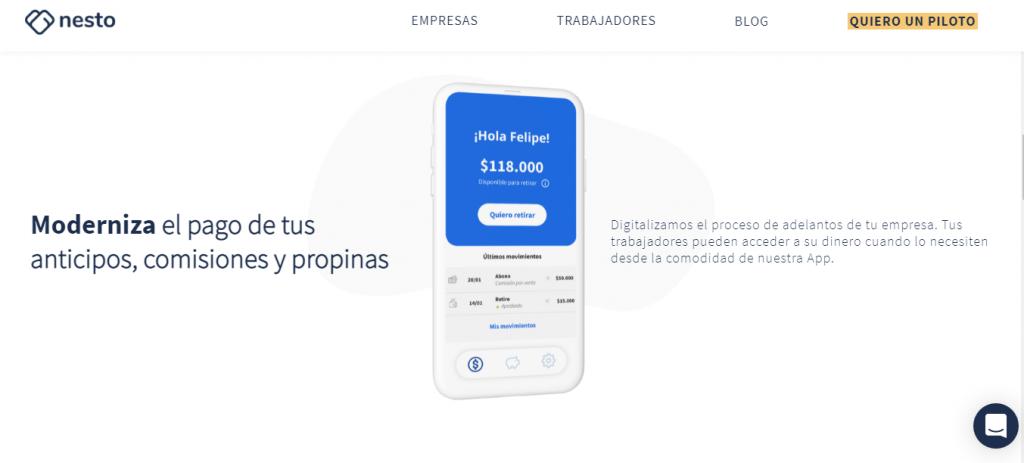 startup chilena Nesto